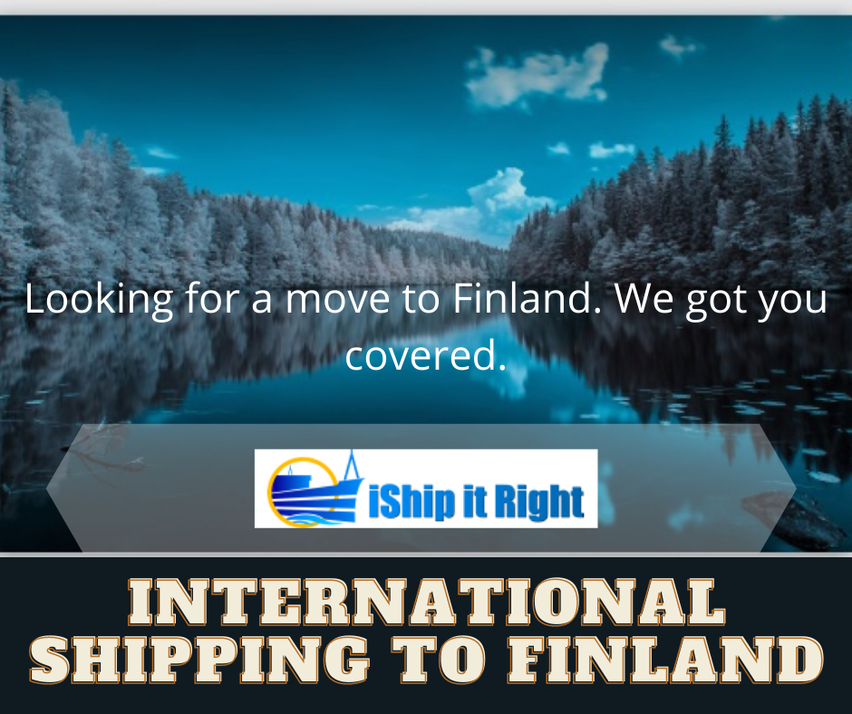 International shipping to finland