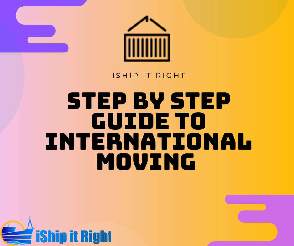 Step by step guide to international moving with a c